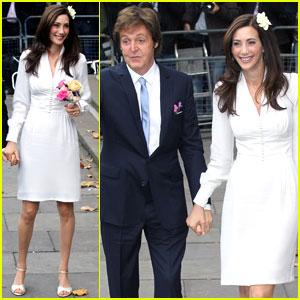Paul McCartney & Nancy Shevell: Married!