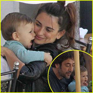 Penelope Cruz & Javier Bardem: Lunch with Leo!
