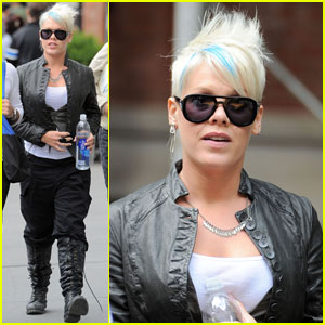 Pink: 'Thanks for Sharing' in NYC!