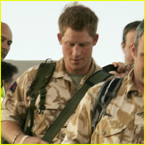 Prince Harry Arrives in U.S. for Military Training