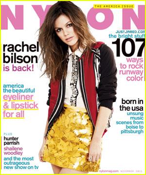 Rachel Bilson Covers 'Nylon' November 2011