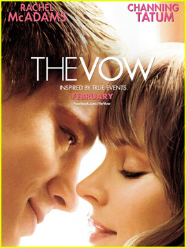 Rachel McAdams & Channing Tatum: 'The Vow' Poster!