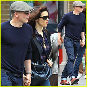 Daniel Craig &#038; Rachel Weisz: Midtown Mates