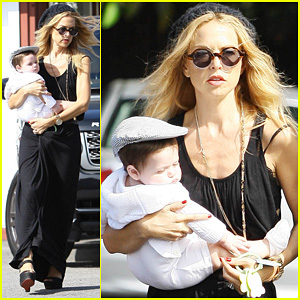 Rachel Zoe: Brentwood Outing with Baby Skyler!