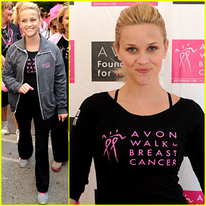 Reese Witherspoon Participates in Avon Walk For Breast Cancer
