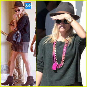 Reese Witherspoon: Sunday Church Services with the Family