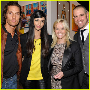 Reese Witherspoon: Art Mére/Art Pére Benefit With Jim Toth!