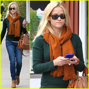 Reese Witherspoon: Speedy Brentwood Stop!