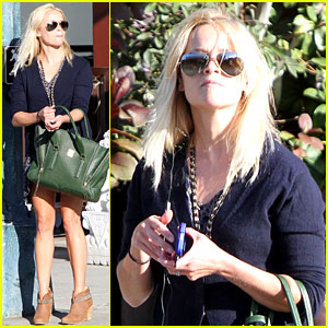 Reese Witherspoon: Windy Shopping Spree