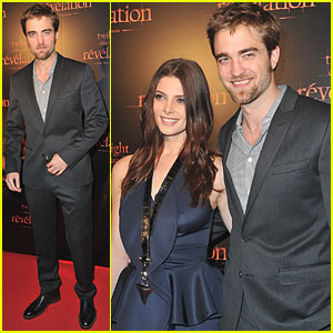 Robert Pattinson & Ashley Greene: Parisian Premiere!