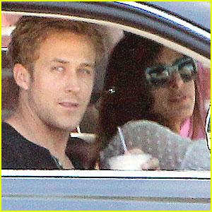 Ryan Gosling & Eva Mendes Heat Up in Hollywood