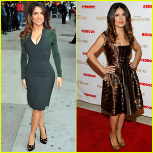 Salma Hayek: Not Being Able to Wear Heels Is Tragic!
