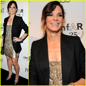 Sandra Bullock: amfAR Inspiration Gala Gorgeous!