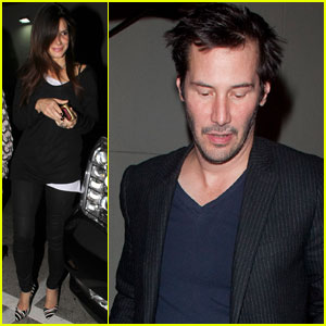 Sandra Bullock & Keanu Reeves: Dinner at Craig's!