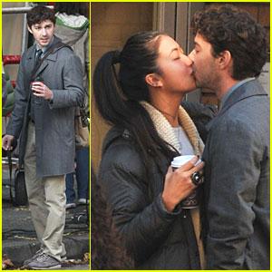 Shia LaBeouf & Karolyn Pho: Kiss Kiss!