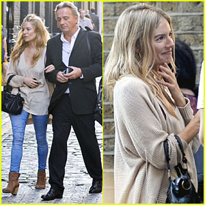 Sienna Miller: Covent Garden with a Guy Friend