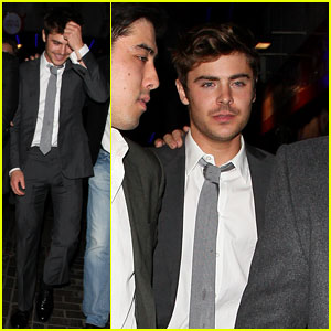 Zac Efron: The Box Birthday Celebrations!
