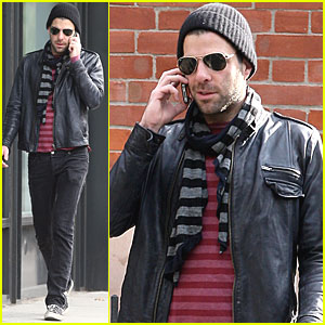 Zachary Quinto 'Deeply Moved' By Support from Fans