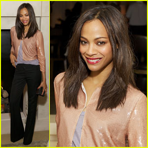 Zoe Saldana Goes 'Public' in Chicago