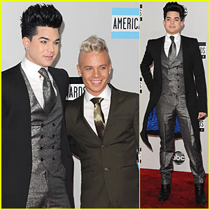Adam Lambert - AMAs 2011 Red Carpet