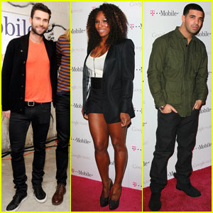Adam Levine & Drake: Google Music Launch Performers!