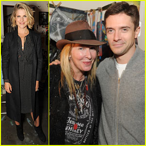 Ali Larter: Sparrow Rock Launch with Topher Grace!