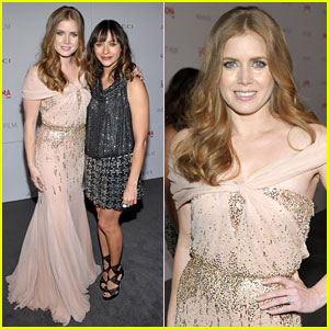 Amy Adams: LACMA Gala with Rashida Jones!