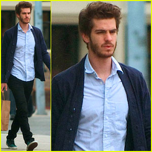 Andrew Garfield: 3rd Street Shopper!
