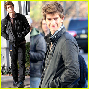 Andrew Garfield: 'Spider-Man' in NYC!