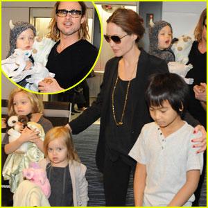 Angelina Jolie & Brad Pitt: Sayonara, Tokyo!