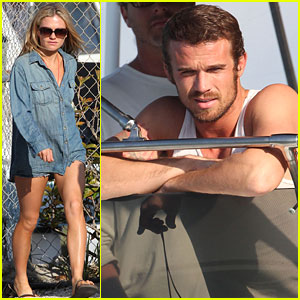 Anna Paquin & Cam Gigandet: 'Free Ride' Boat Time!