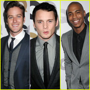 Armie Hammer & Anton Yelchin: GQ Men of the Year Party!