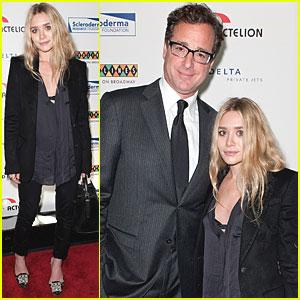Ashley Olsen & Bob Saget Reunite at Caroline's