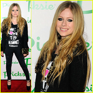 Avril Lavigne: Picksie 2.0 Launch Party!