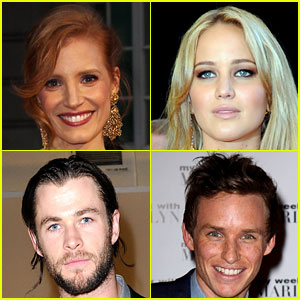 Jessica Chastain & Jennifer Lawrence: BAFTA Rising Star Nominees!