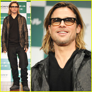 Brad Pitt: 'Moneyball' Press Conference in Tokyo