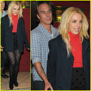 Britney Spears: 'Rock of Ages' with Jason Trawick!