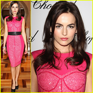 Camilla Belle Chopard Boutique Opening Camilla Belle Just Jared