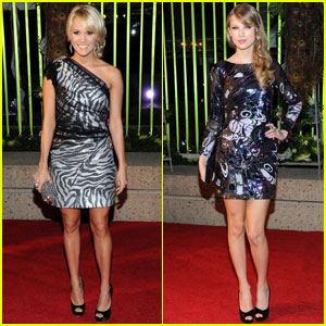 Carrie Underwood & Taylor Swift: BMI Country Awards!