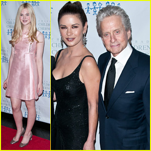Elle Fanning & Catherine Zeta-Jones: Children at Heart Gala!