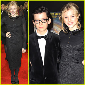 Chloe Moretz: 'Hugo' Royal Film Premiere!
