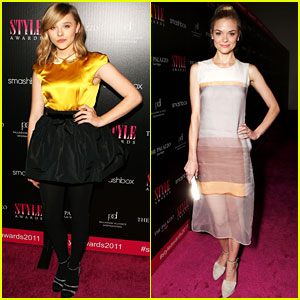 Chloe Moretz: Hollywood Style Awards with Jaime King!