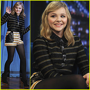 Chloe Moretz: Late Night with Jimmy Fallon!