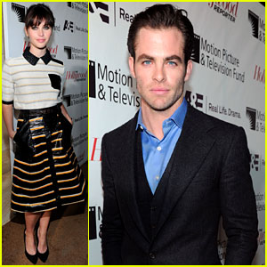 Chris Pine & Felicity Jones: THR's Next Gen Reception