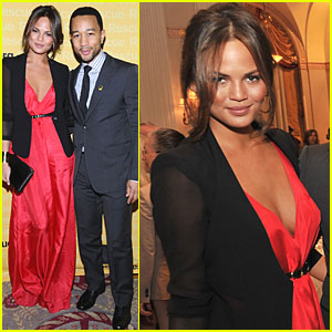 Chrissy Teigen & John Legend: International Rescue Committee Dinner