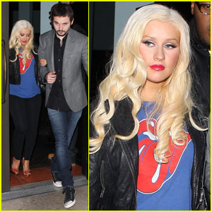 Christina Aguilera &#038; Matthew Rutler: Mozza Mates