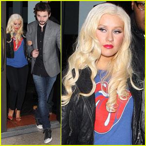 Christina Aguilera & Matthew Rutler: Mozza Mates