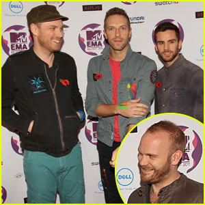 Coldplay: MTV EMAs 2011 Red Carpet & Performance