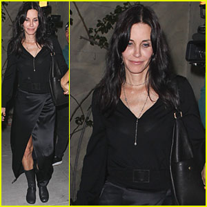 Courteney Cox: Spago Supper