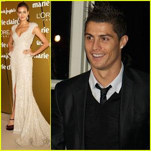 Cristiano Ronaldo & Irina Shayk: 'Marie Claire' Awards!